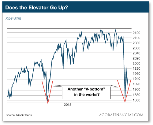 Does the Elevatory Go up?
