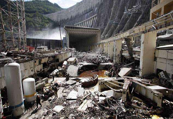 Russian Dam Failure