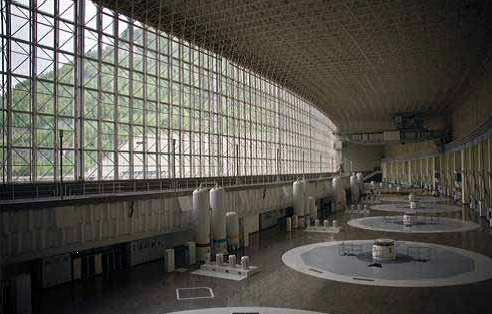 Russian Dam Turbine