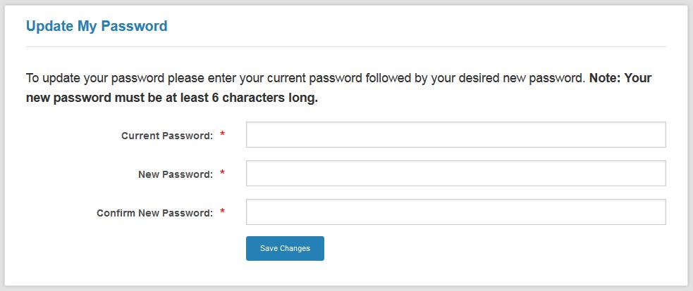 Change My Password