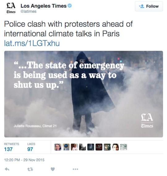 LA Times Tweet