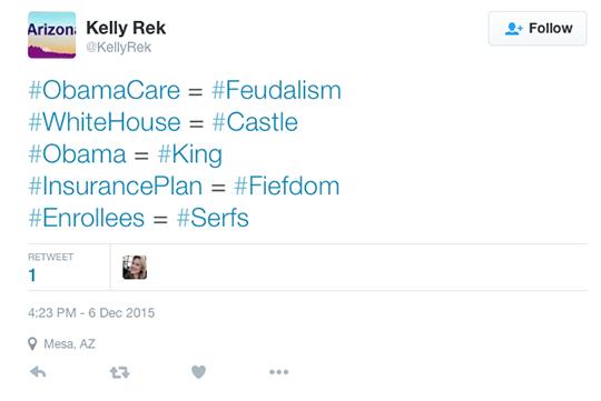 Kelly Rek tweet