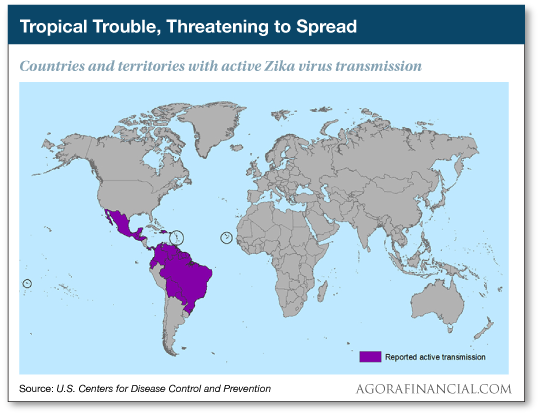 Tropical Trouble, Threatening the Spread