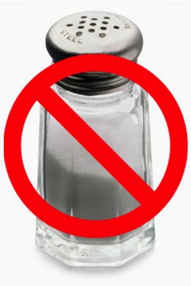No to Salt