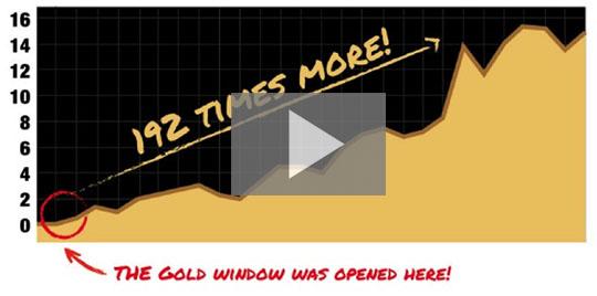 Description: Gold Window