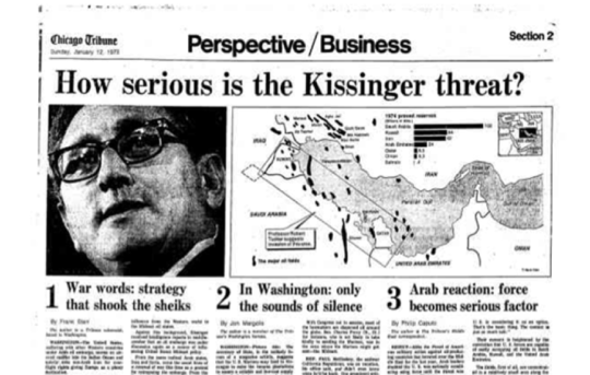How serious is the Kissinger threat?