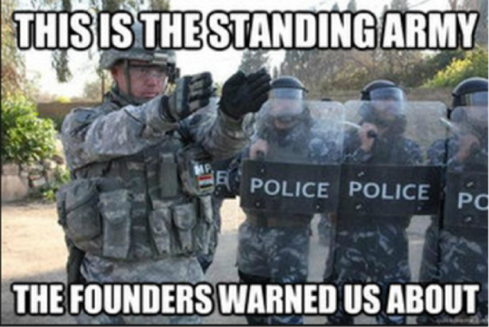 Standing Army of Police