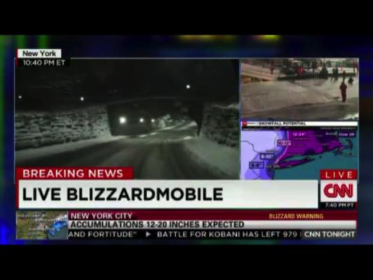 LIVE Blizzardmobile