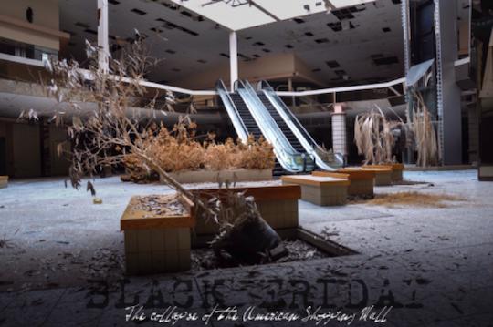 Deserted mall