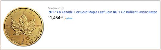 canadian gold leaf