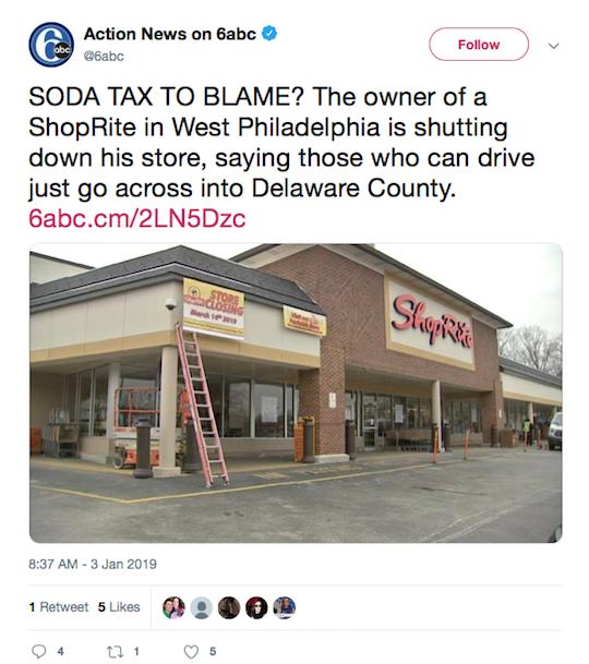 Action News on 6abc Tweet