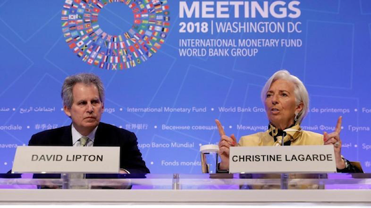 David Lipton & Christine Lagarde