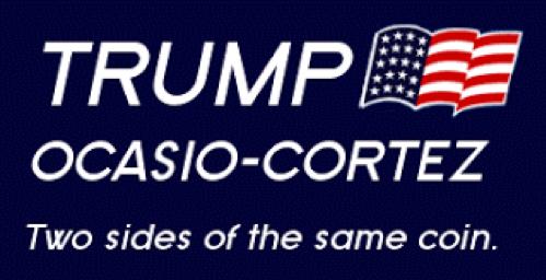 Trump and Ocasio Cortez