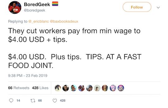 BoredGeek Tweet