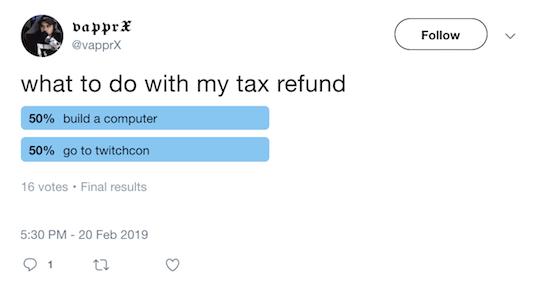 Simplified Tax form