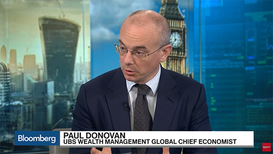 Bloomberg Paul Donovan