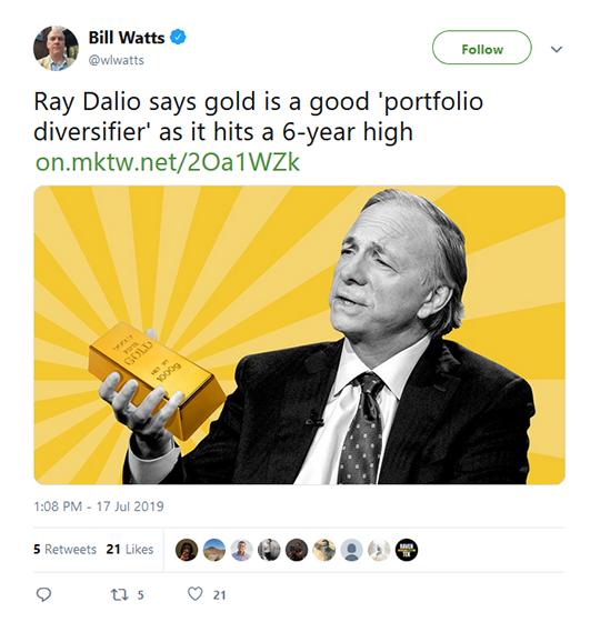 Bill Watts Tweet