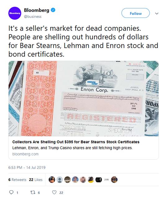 Bloomberg Business Tweet
