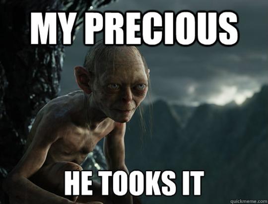 Gollum Meme
