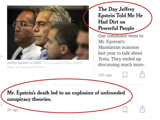 Epstein Conspiracy