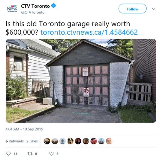 CVT Toronto Tweet