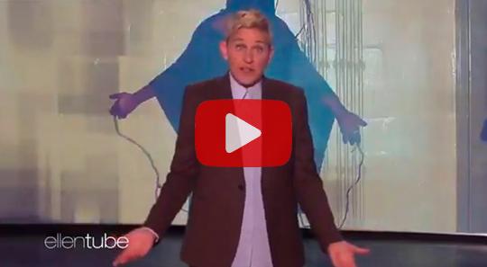 Ellen Video About GW