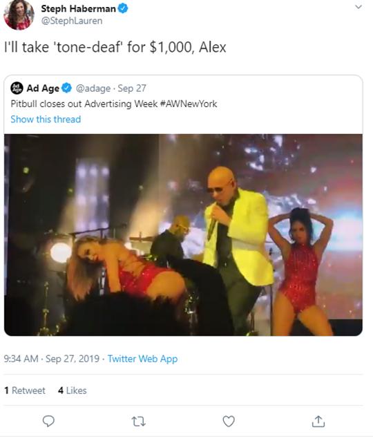 Pitbull Advertisement Week