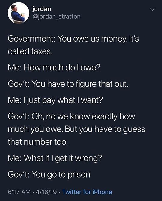 IRS Meme Tweet