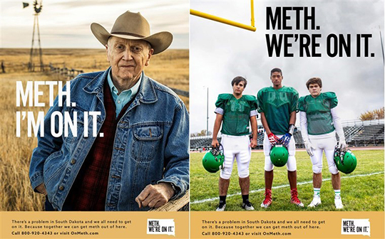Meth We're On It Campaign