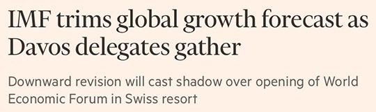 IMG trims global growth