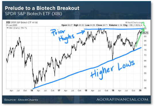 Prelude to a Biotech Breakout
