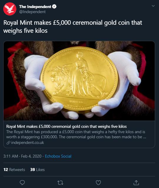 The Independent tweet
