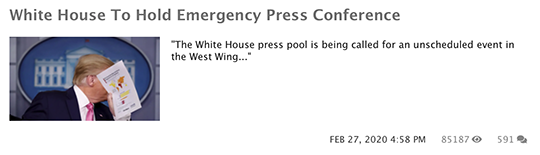 White House Press Conference