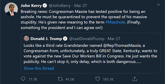 John Kerry Tweet