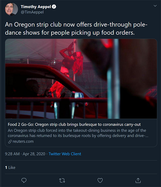 Oregon Strip Club